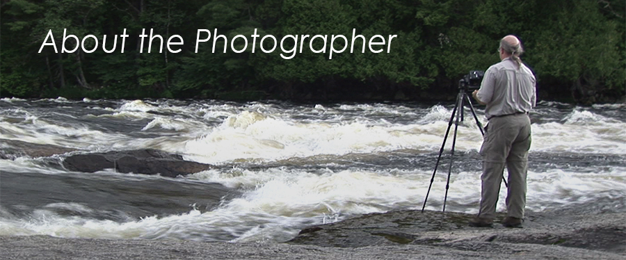 About the Photographer - photo of Scot Miller along Penobscot River