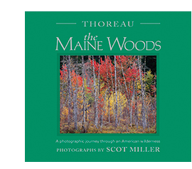 The Maine Woods book cover